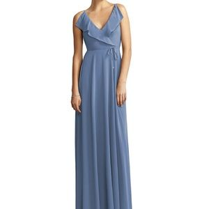 JENNY YOO Larkspur Maxi Bridesmaid Dress